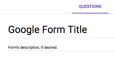 How do I create a Google Form? - UNC Charlotte FAQ - UNC Charlotte